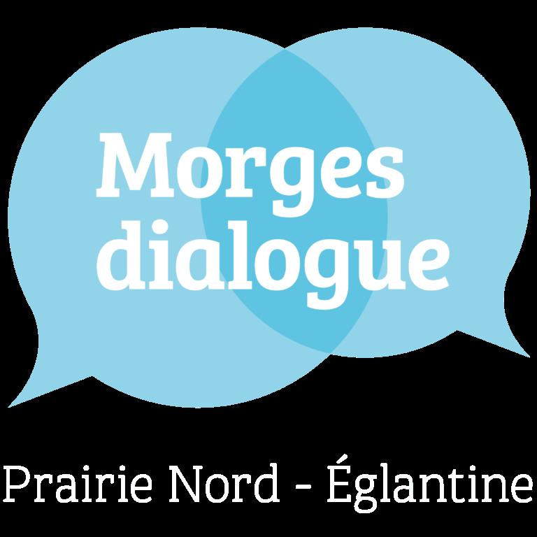 Logo Morges Dialogue Prairie Nord-Églantine